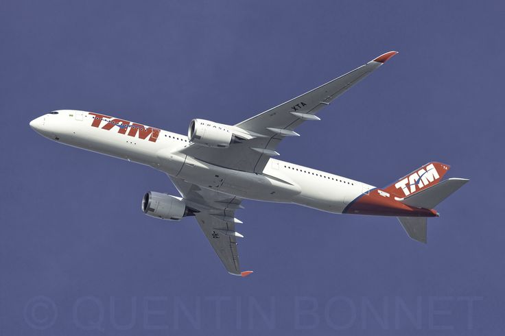 https://flic.kr/p/BY1pU2 | TAM Linhas Aéreas Airbus A350-941 F-WZFS (PR-XTA) | Acceptance flight for the first A350 TAM