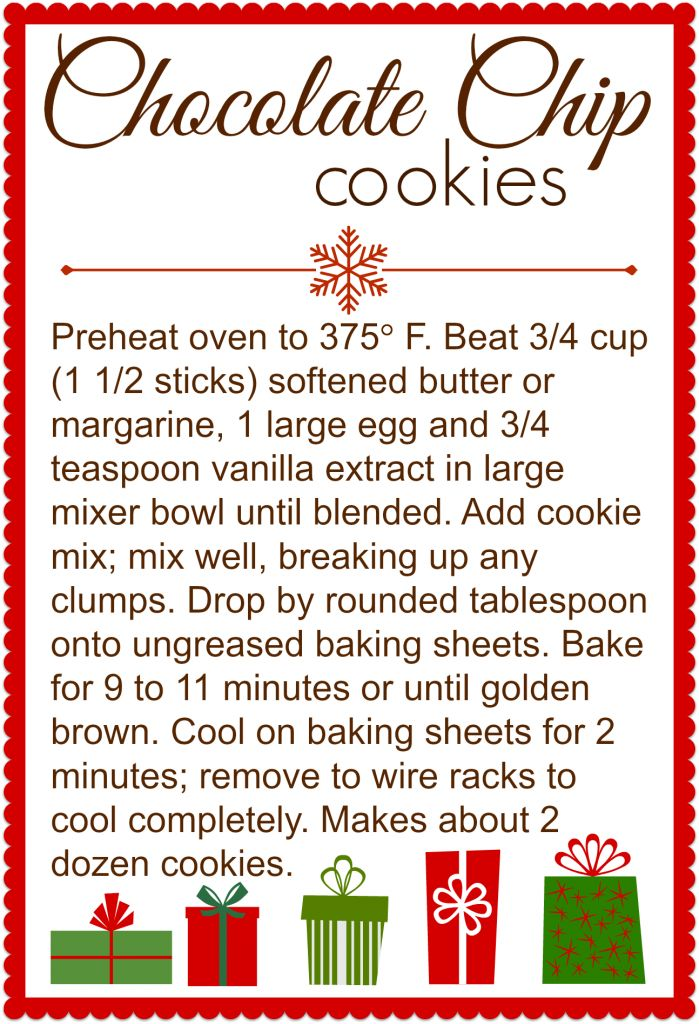 Try this easy recipe to make your own DIY delicious chocolate chip cookie mix in a jar, the perfect holiday gift!