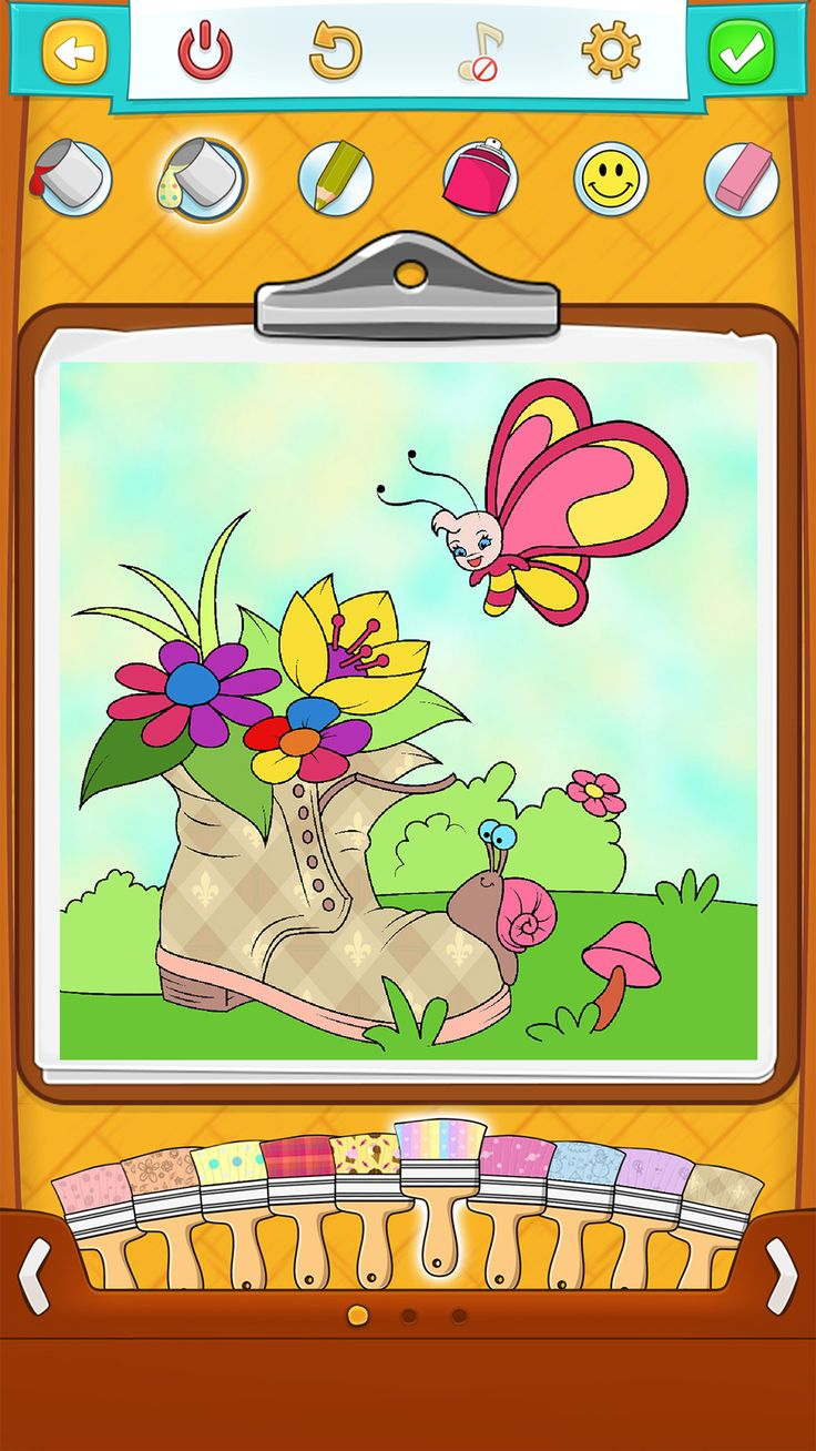 Coloring pages app - Fun Coloring App Check Out Spring Coloring Pages For Kids And Let Them Enjoy