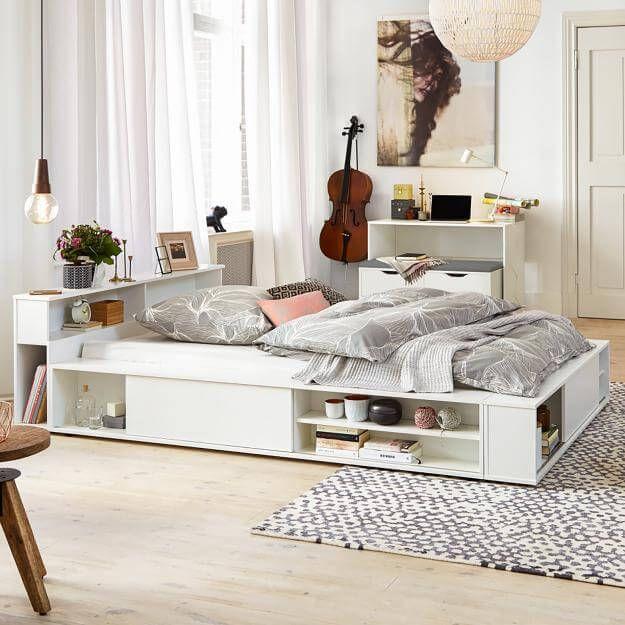 Die besten 25+ Ikea kleines doppelbett Ideen auf Pinterest - wohnideen schlafzimmermbel ikea