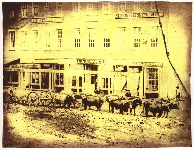 An Albumen Print Reproduced From Ravenna Used Courtesy Of The Portage County Historical Society