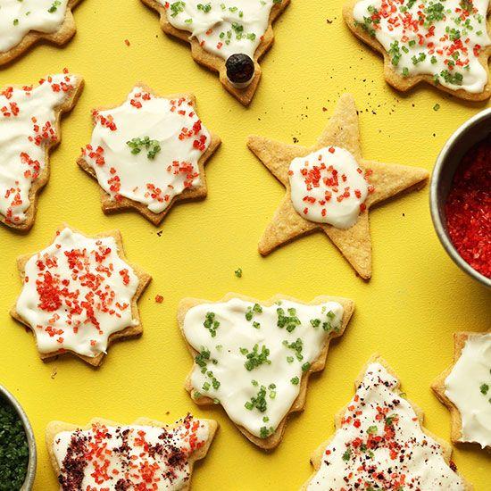 Gluten Free Sugar Cookies | Minimalist Baker Recipes