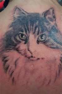 Cat Portrait Tattoo 36215jpeg | I Love Tattoos | Pinterest