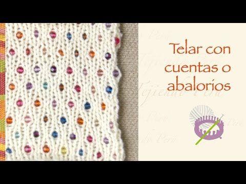 Telar con cuentas o abalorios - Tejiendo Perú...