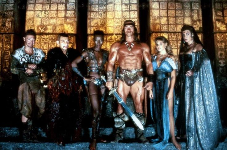 Arnold Schwarzenegger - Conan the Destroyer 1984