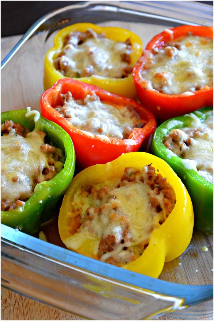 Sweet my Kitchen: Pimentos recheados