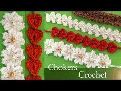 Aprenda a tricotar Crochet Butterflies 3D flores cor de rosa em uma tira com folhas - E ...