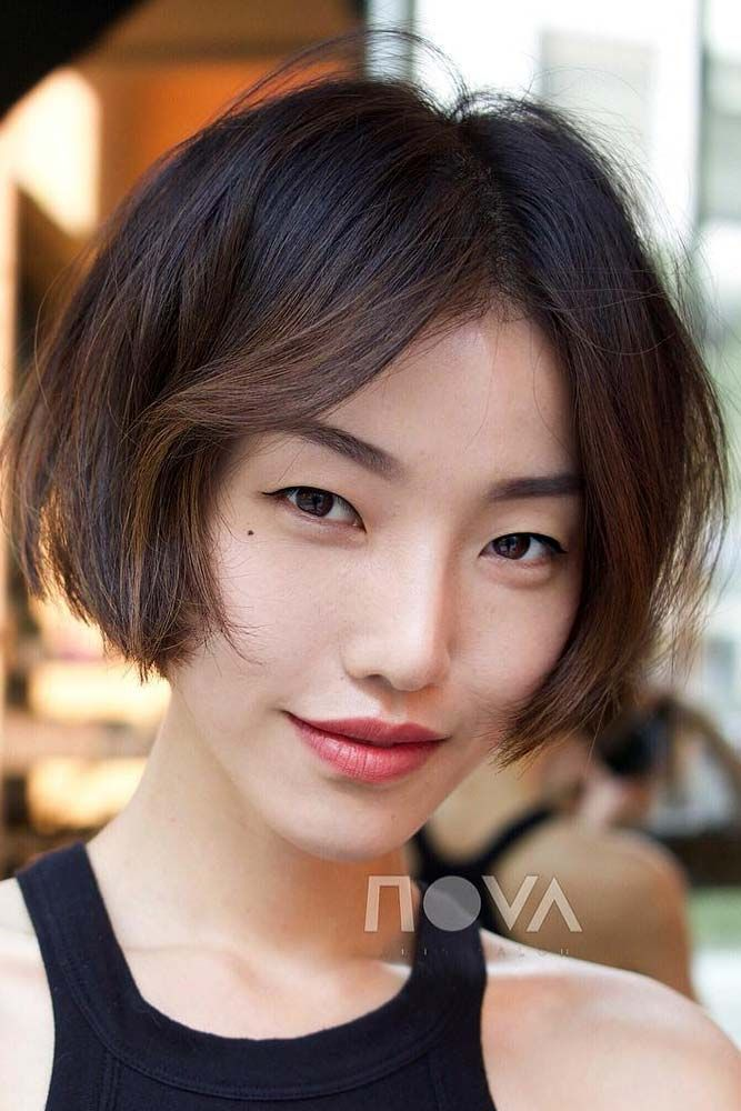 35 Iconic And Contemporary Asian Hairstyles To Try Out Now Asian Hair Chin Length Hair Asian Short Hair