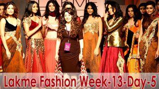 Fashion and Styles: Lakme Fashion Show Winter / Festive 2013 Day-5 | I...
