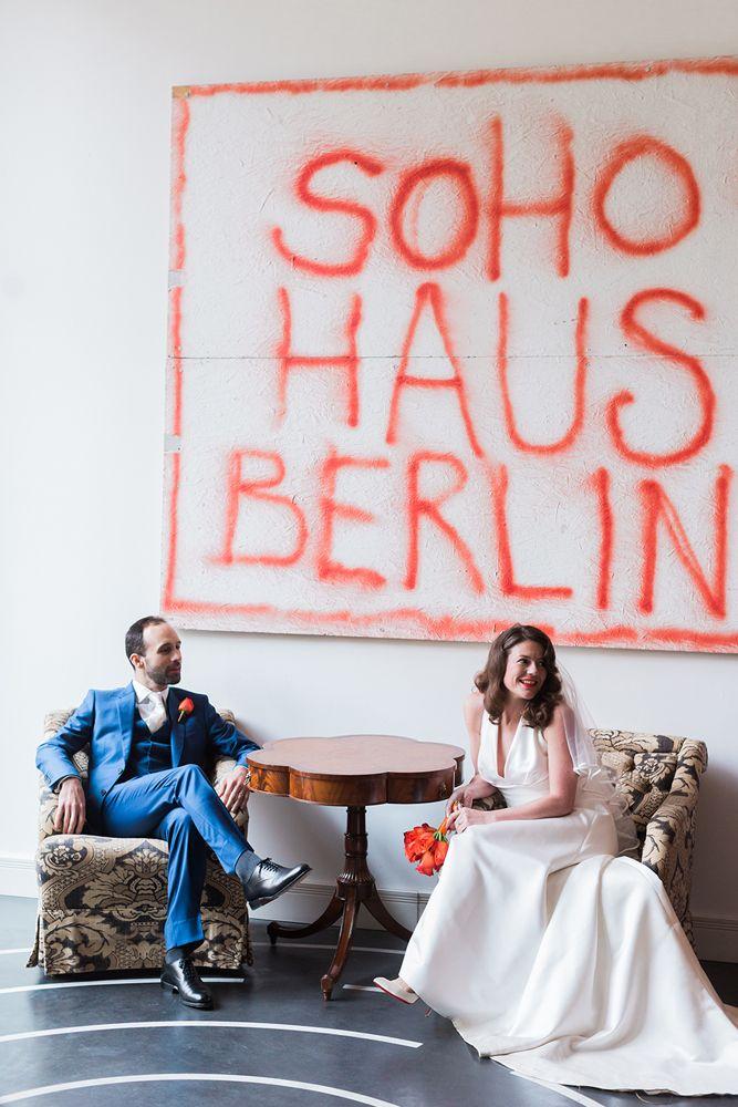 urban chic wedding in Berlin by Beautiful Occasions, Soho Haus Berlin
