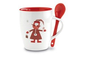 Hot #chocolate and #marshmallows by the fire? Cup of steaming #coffee? Why not buy our special #ChristmasMug?