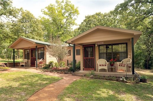 cottages at oak creek bed and breakfast athens texas