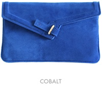 Consider Ela's MILCK clutch a fashion lifeline. FYI, the name stands for the goods meant to be kept within: money, ID, lipstick, cell, and keys (Available online at thecode.ca, $282-$297. To see styles, go to elabyela.com.)