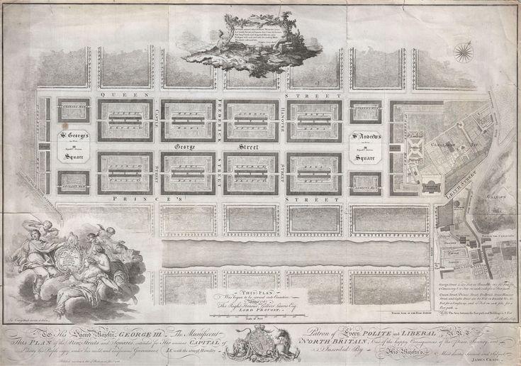 Edinburgh New Town, 1768
