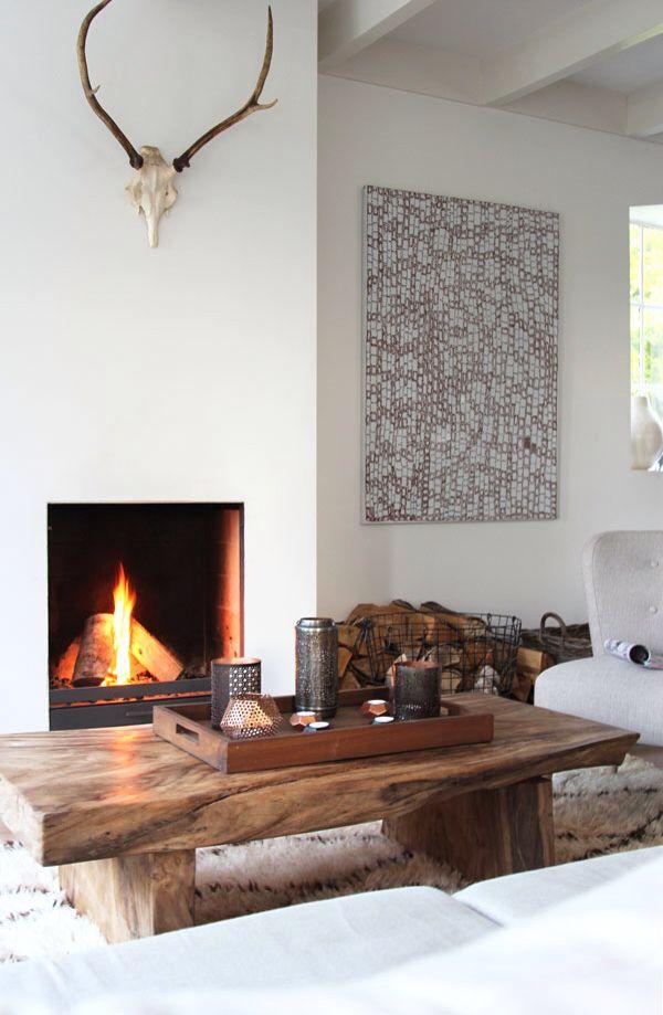Cozy minimalistic living room