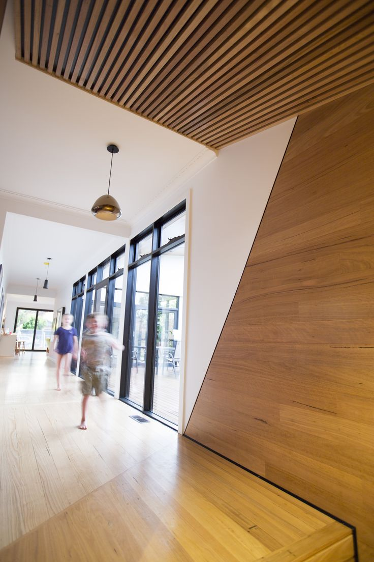We supplied the timber flooring, cladding and battens in the 'Fusion House' project by @DankorArchitx and Ecoast builders. Victoria, Australia.