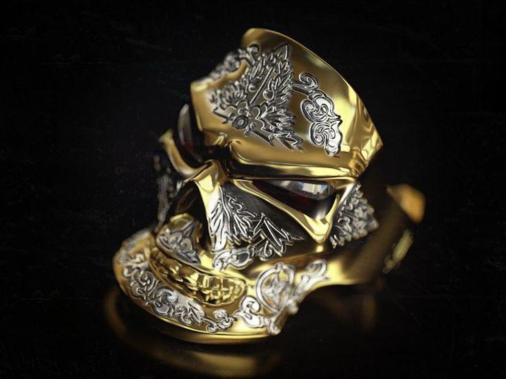 """The grining skull"" ring/ ""Череп с ухмылкой"" перстень #garnet #гранат #жёлтоезолото #белоезолото #перстень #кольцо #золото #череп#украшения #украшениядлямужчин #стиль #ювелирныеизделия #ювелирныеукрашения #длямужчин #кольца #yellowgold #gold #ring #jewelryformen #jewellery #formen #menstuff #gentsring #mensjewelry #styleformen #menstyle #jewelrygram #accessories #whitegold #franguebyzverev"