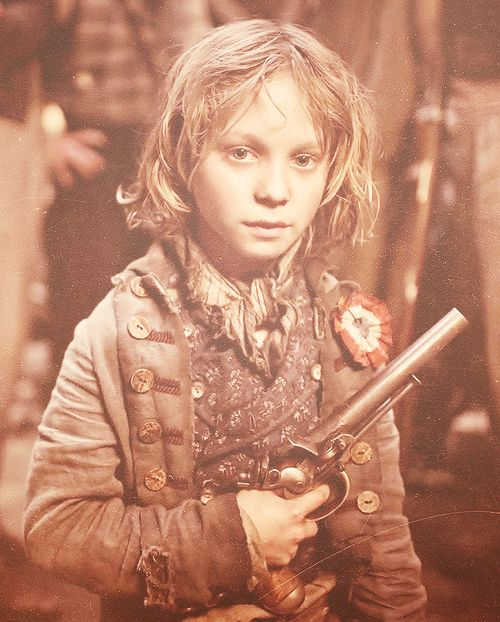 Gavroche- One day, he's going to be able to say that he played one of the most beloved parts in musical history. And he rocked it!