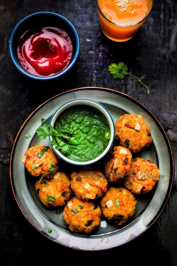 Leftover Rice Cutlets Tikki crispy outside soft inside taste delicious easy quick kids friendly healthy as loaded with veggies and could make without oil.