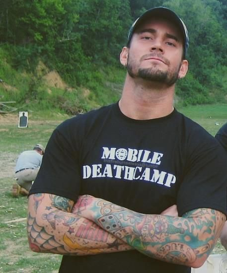 cm punk so hot!!! The things I would do to him...