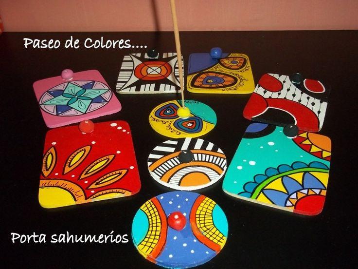 Porta Sahumerios Artesanales . (consultar Por Cantidad) - $ 59,90 en MercadoLibre