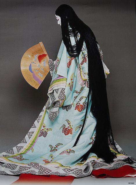 Kabuki actor, Bando Tamasaburo - the National Living Treasure of Japan