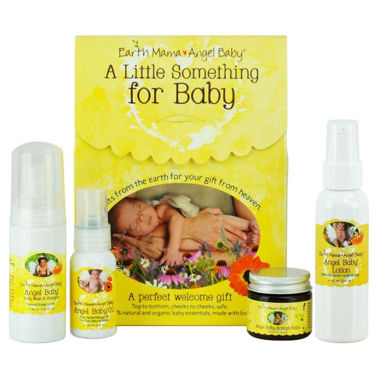 Earth Mama Angel Baby - A Little Something for Baby (4 Piece Collection)
