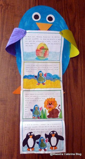 Maestra Caterina -  Il Pinguino Arcobaleno presenta la sua storia