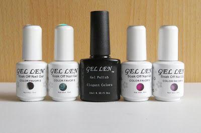 Gadget Girl Reviews: Gellen UV Gel Nail Polishes 4 piece kit & NEW Halo...