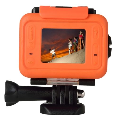 SOOCOO S70 World Debut 2k30fps 1080p60fps 1.5 inch LCD Screen 60m Waterproof WiFi Sports Action Camera with Watch Remote Control and SOS One Click Underwater Distress Signal, Max Controlling Distance: 70m