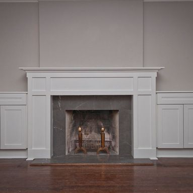 Craftsman fireplace design ideas pictures remodel and for Craftsman fireplace pictures