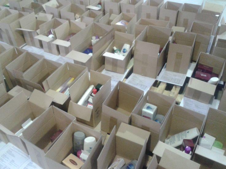 Locul de unde produsele noastre fermecate pleaca spre voi! www.farmec.ro