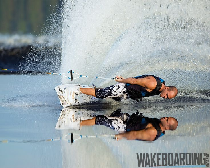 have to repin this...I love wakeboarding...but that water is perfect for it...glass..awesome pic