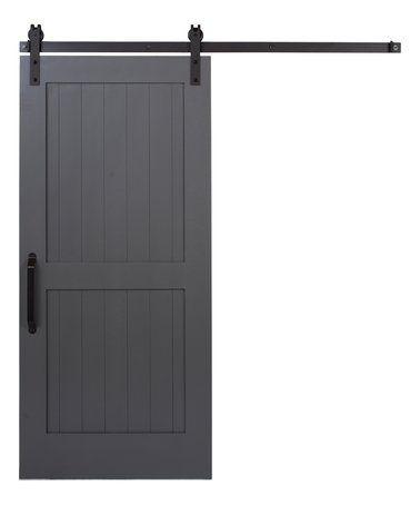 Kendal Gray 2 Panel Z Barn Door #zulily #zulilyfinds