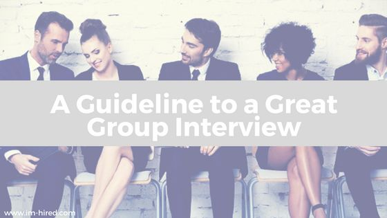 New Blog now live on the Top 10 Guidelines to a great group interview.   Group interviews are becoming more and more popular so you need to know how to perform and stand out from the crowd, so learn how to get noticed in the interview.