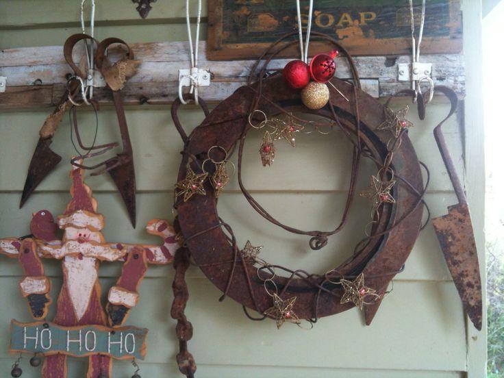 "My ""wrustic"" wreath"