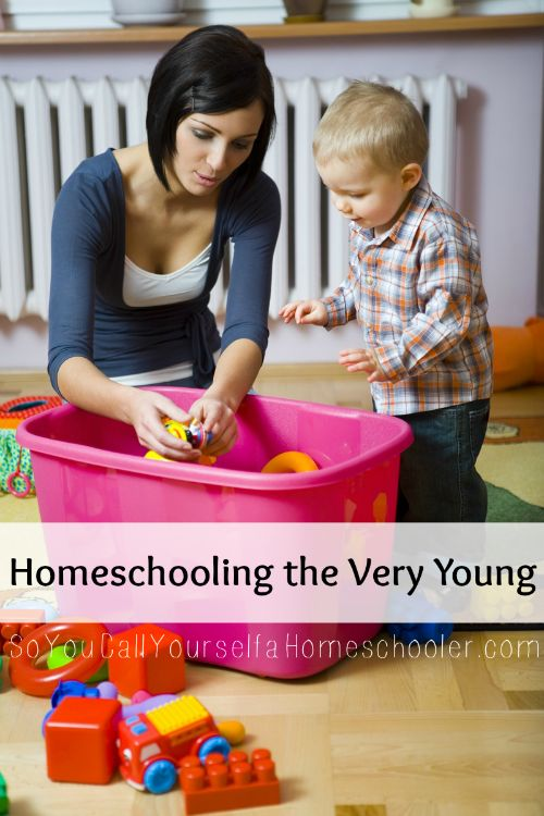 Homeschooling the Very Young :: Liz gives some great ideas how you can homeschool your young children. :: Managing Your Blessings