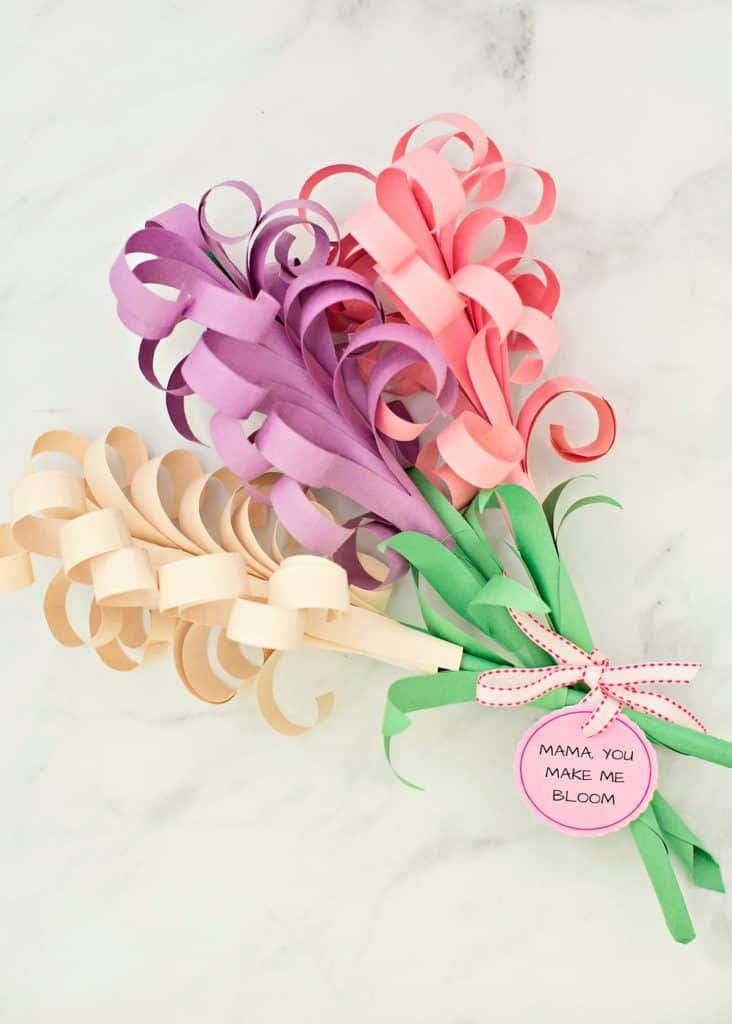 Giant Diy Paper Hyacinth Flower Bouquet Hello Wonderful Paper Flower Bouquet Paper Flowers Diy Paper Flowers