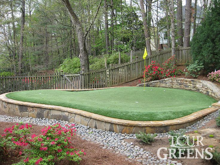 best 25 backyard putting green ideas on