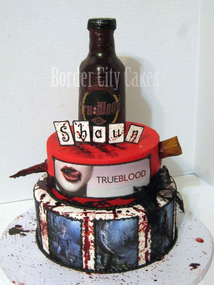 True Blood Cake