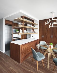 Suspended Glass Kitchen Shelves   Google Search