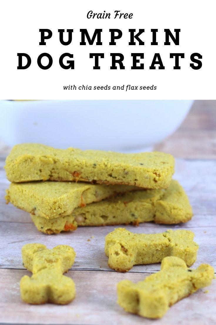Grain Free Dog Treat Recipe With Flax Seeds Pumpkin Pumpkin Dog