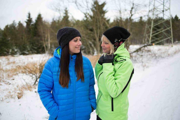 Wattierte Damenjacken für den Winter - Primaloft