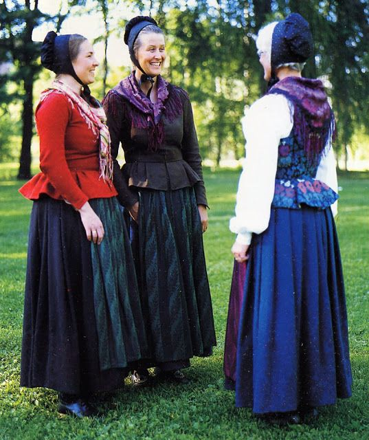South Østerdal. Norway. FolkCostume&Embroidery: Overview of Norwegian Costumes. Part 1, the Southeast.
