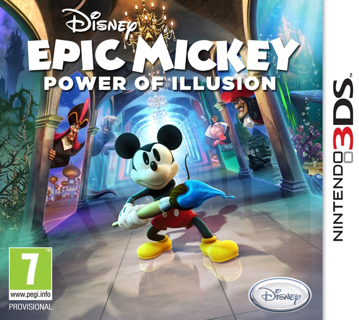 Disney Epic Mickey 3D: The Power of Illusion