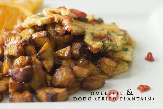 Dodo & Egg (Fried plantain & omelette)