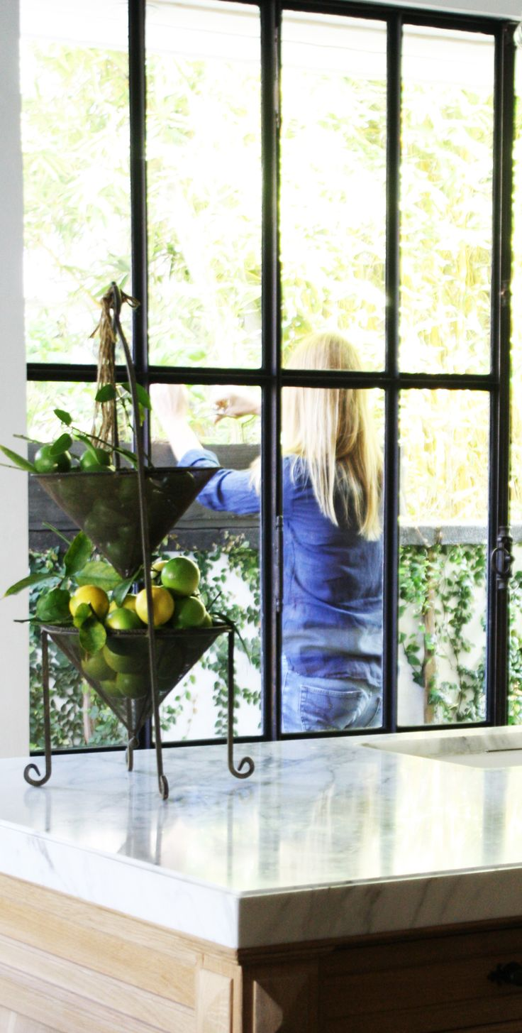 linenandlavender.net :  stepping outside our iron and glass doors, we can clip herbs we grow on the ledge just outside - from our digital magazine - Volume No. 01 ~ Issue 03 http://glossi.com/linenlavender/28349-linenandlavendernet-volume-no-01-issue-03