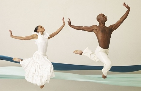Dancers with Alvin Ailey American Dance Theater. @PostandCourier
