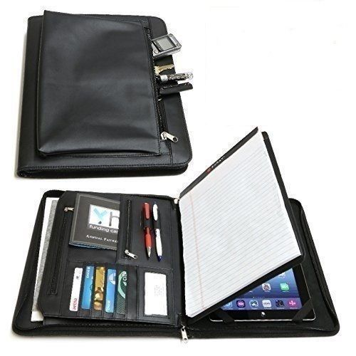 Fold Leather Portfolio Case Slim Folio Ipad Pro 2 3 4 Air Mini Cover Business  in Computers/Tablets & Networking, Tablet & eBook Reader Accs, Cases, Covers, Keyboard Folios | eBay