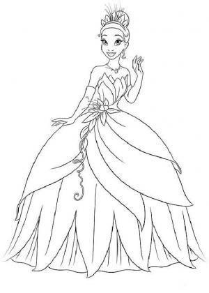 Принцесса и лягушка платье